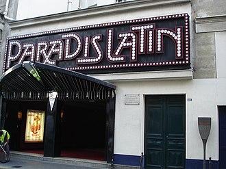 Paradis Latin - Theater Paradis Latin