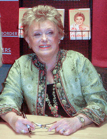 English: Rue McClanahan at a book signing for ...