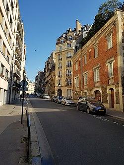Rue de Boulainvilliers