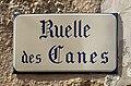 Ruelle des canes (Irancy, France) - panneau.jpg