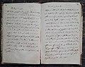 Runebergsbakelse i Fredrika Runeberg receptbok, 1850-talet.jpg
