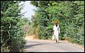 Rural roads, Turban villager Rajasthan India 2012.jpg