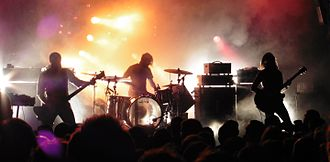 Post-metal - Many groups, including Russian Circles, are instrumental.