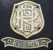 Ruston and Hornsby Roller Headstock Badge IMG 1841.jpg