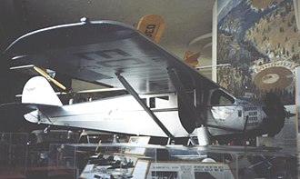 Moncrieff and Hood disappearance - A Ryan B-5 Brougham similar to that flown by Moncrieff and Hood