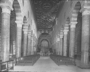 Volterra Cathedral - Interior in 1895