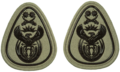SANDF Rank Insignia WO1 Level 1 embossed badge.png