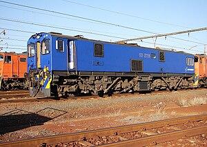 South African Class 10E1, Series 1 - Image: SAR Class 10E1 Series 1 10 075
