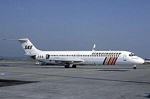 Scandinavian Airlines System Douglas DC-9-41 O...