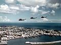 SH-3A Sea Kings of HS-4 over Key West in 1962.jpg