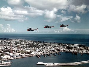 SH-3A Sea Kings of HS-4 over Key West in 1962.jpg