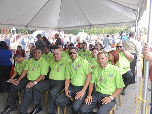 SITRAS - A group of SITRAS bus drivers getting ready to be commissioned