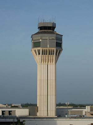 Luis Muñoz Marín International Airport - SJU's Control Tower