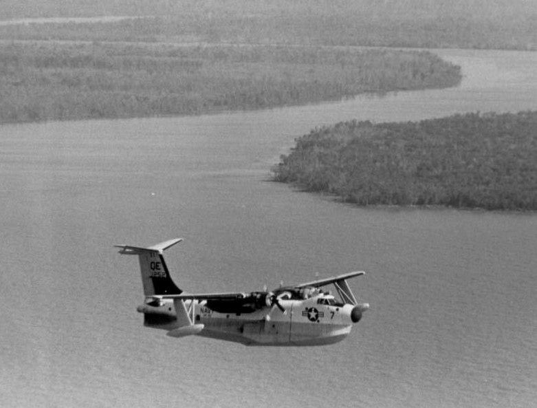 SP-5B VP-40 on Vietnam patrol 1965