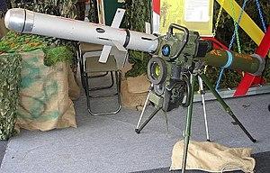 Spike (missile) - Image: SPIKE ATGM