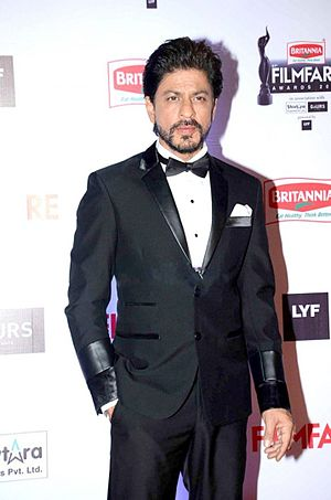Shah Rukh Khan -  Khan at 61st Filmfare Awards which he hosted