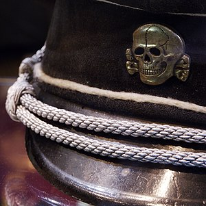 """Operation Heads - SS cap with Totenkopf inspiration of """"Operation heads"""" name."""