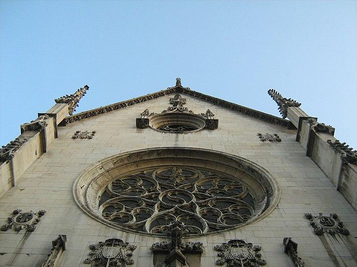 Eglise saint bonaventure monument historique lyon for Piscine miroir wikipedia