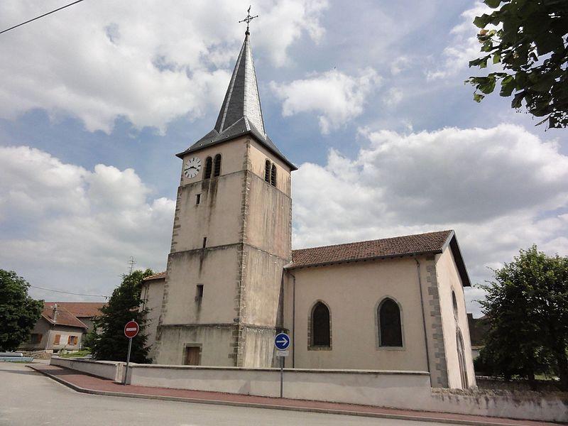 Saint-Rémy-aux-Bois (M-et-M) église