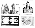 Saint Bartholomew Monastery floor and cross plan.png