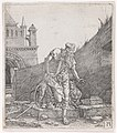 Saint Jerome Walking in a Churchyard MET DP143465.jpg