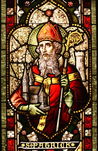 Christianity in Ireland - Saint Patrick, a Romano-Briton Christian missionary, generally recognised as the primary patron saint of Ireland, although Brigid of Kildare and Columba are also patron saints.