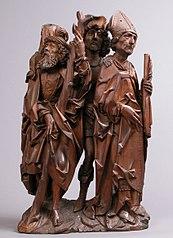 Saints Christopher, Eustace, and Erasmus (Three Helper Saints)