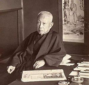 Saionji Kinmochi - Saionji at the villa Zagyosō in Shizuoka, Japan