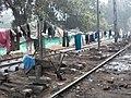 Salaam Balaak contact point at the railway community next to New Delhi Railway Station.JPG