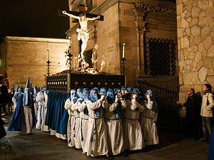 Holy Week procession - Paso of Holy Week in Salamanca.
