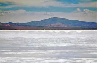 Salinas Grandes - Salt mounds in Salinas Grandes