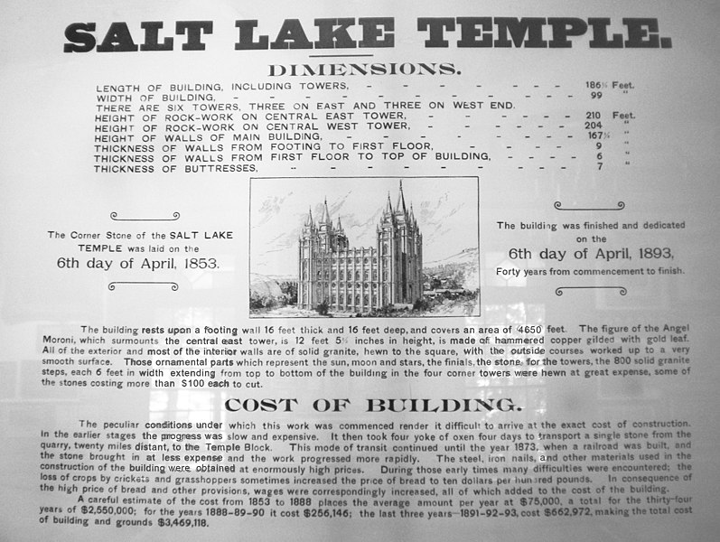 salt late city law history essay • during the decade after the mormon pioneers arrived in salt lake city, a number of lds women, like their frontier counterparts, married at age 16 or 17 or, infrequently, younger • by 1857, about half of the utah territory's residents lived in a polygamous family.