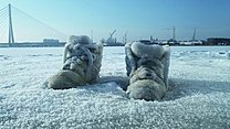 Salted Lake (Salt Crystal Shoes on a Frozen Lake).jpg