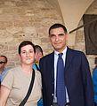 Samantha Palazzi e Tiberio Timperi, Assisi 2013.JPG