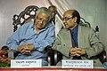 Samaresh Majumdar with Shamsuzzaman Khan - Kolkata 2016-02-02 0538.JPG