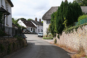 Sampford Courtenay - Image: Sampford Courtenay