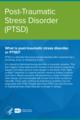Sampul depan asli dari buku kecil NIMH tentang Gangguan Stres Pasca-Trauma.png