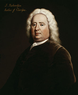 Samuel Richardson - 1750 portrait by Joseph Highmore