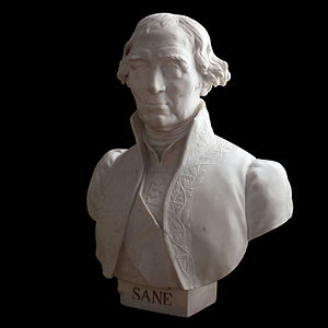 Jacques-Noël Sané - Bust by Louis-Joseph Daumas, on display at the Musée national de la Marine in Paris.