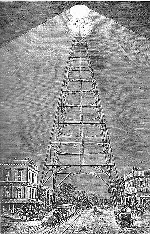 Moonlight tower - San Jose, California, 1881