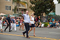 San Diego Mayor Kevin Faulconer marching in the 2014 San Diego LGBT Pride Parade.jpg