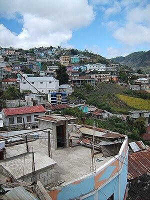 San Mateo Ixtatán - View of San Mateo Ixtatán