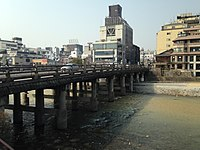Sanjo-Ohashi Bridge from east.JPG
