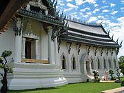 Sanphet Prasat (königlicher Palast), Modell in Ancient City, Bangkok