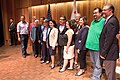Santa Barbara Town Hall with Salud Carbajal, Hannah-Beth Jackson, Monique Limon and Xavier Becerra.jpg