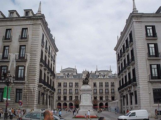 Santander - Plaza Porticada o de Pedro Velarde