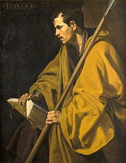 Thomas the Apostle Early Christian, one of the twelve apostles and a saint
