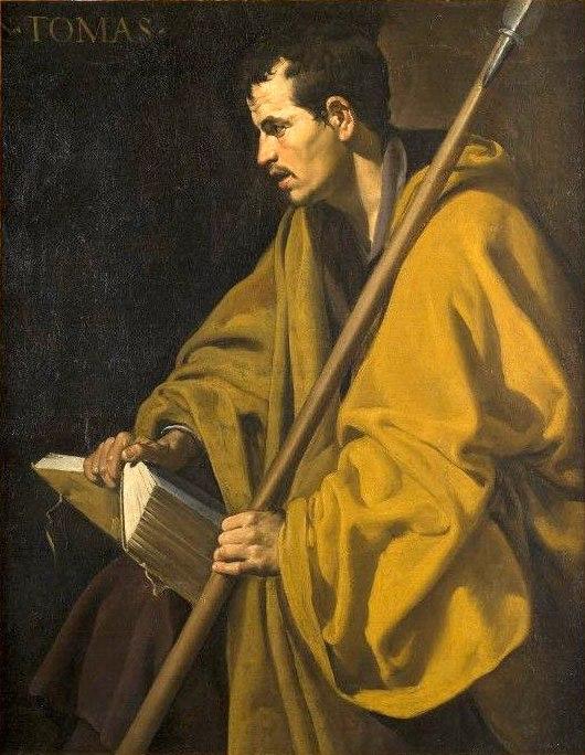 Santo Tomás, por Diego Velázquez