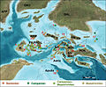 Santonian-Maastrichtian European fossil deposits.jpg