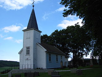 Ullerøy - Ullerøy Church